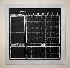 large chalkboard calendar best 25 large wall calendar ideas on