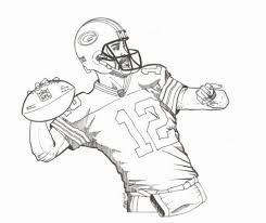 Green Bay Packers Players Coloring Pages Coloring Pages