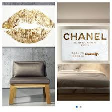chanel wall art. coco chanel wall art stickers from hautelookcom diy f