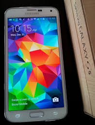 samsung galaxy s5 shimmery white. samsung galaxy s5 sphg900bbb (latest model) - 16gb shimmery white boost mobile | and