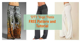 Yoga Pants Pattern