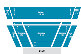 Prudential Hall Seating Chart New Jersey Performing Arts Center In Newark New Jersey