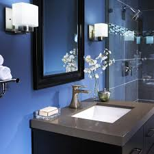 navy blue bathroom ideas majesty white macerino acrylic bathtub white stained plastering wall wall mounted brown