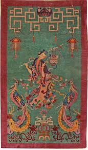 art deco rug. Antique Chinese Rugs Gallery: Art Deco Rug, Hand-knotted In China; Rug