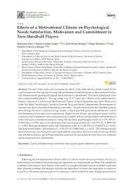Validation Of The Revised Sport Motivation Scale Sms Ii Luc G