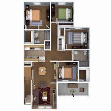 4 bedroom floor plan. 4 Bedroom Flat House Plans Awesome With Basement New Floor Plan P