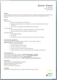 Bilingual Flight Attendant Sample Resume Adorable Corporate Flight Attendant Resume Template Ramautoco