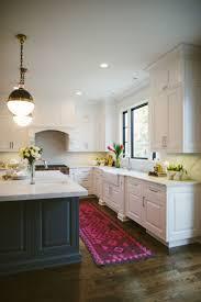 Superior Colorful Kitchen Rug Ideas, Black And White Kitchen