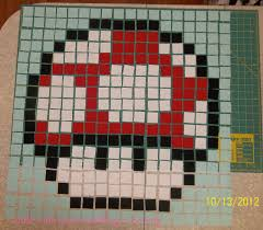 Little Pink Rose Quilting & Sewing : Super Mario Brothers Quilt ... & Super Mario Brothers Mushroom Adamdwight.com