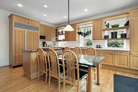 Kitchen Colors With Light Wood Cabinets Cool Design