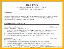 Examples Of Professional Resumes Interesting Sample Profile Resumes In Resume Cv Summary Mmventuresco