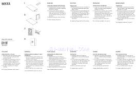 Ikea Instruction Manuals Ikea Besta Drawer Instructions Chest Of Drawers