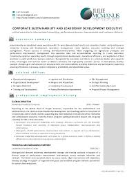 Gallery Of Resume Of Julie Mcmanus Leadership And Sustainability