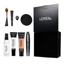 loreal makeup collection free gift loreal makeup brushes designer box