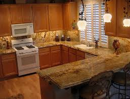 Kitchen Granite Tops Classic Kitchen With Yellow River Solarius Granite Countertop