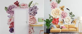 decor ideas using wall decals