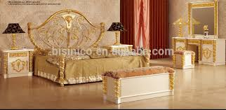 New Item Bedroom FurnitureGold White Luxury Bedroom White And Gold ...