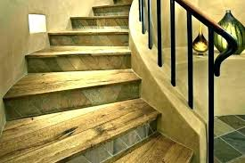 vinyl plank stair nosing on stairs tile allure flooring nose treads canada