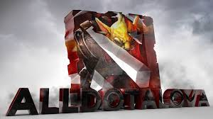 3d logo dota 2 alldotalova by gssproductions on deviantart