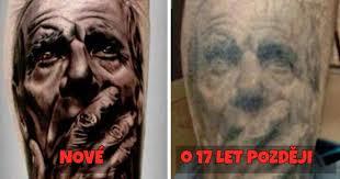 Lidé Odhalili Jak Vypadá Jejich Tetování Po Letech Evropa 2