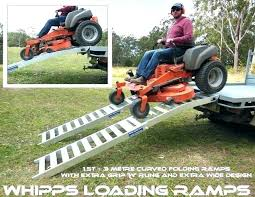 Lawn Mower Ramps For Trucks Ramp Pickup Truck Riding Mowers How To ...