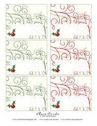 Holiday Placecards Printable Holiday Place Cards Download Them Or Print