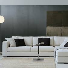 Alchemy Collections - Alfred couch in brown | Modern sofa living ...
