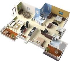 Best House Plans For Your Modern Taste   Fresh Design d floor plans