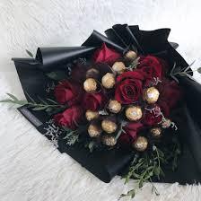 Ferrero Rocher Bouquet Designs My Valentine Ferrero Rocher Rose Bouquet Floral Passion Sg