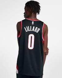 Nike Youth Swingman Jersey Size Chart Damian Lillard Trail Blazers Icon Edition Mens Nike Nba Swingman Jersey