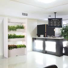 indoor vertical garden. Wall Farm Is An Indoor Vertical Garden That Grows Fresh Herbs, Fruits And Leafy Greens D