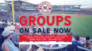 Group Outings For 2019 Season On Sale Nashville Sounds News