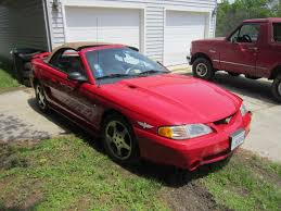 1994 Ford Mustang Cobra Convertible Indy Pace Car for Repair or ...