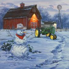 Farmhouse Winter Wallpapers - Top Free ...