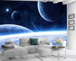 3d Wallpaper Walls Romantic Landscape ...