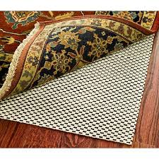 grid non slip rug pad 5 x 8