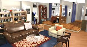 Nerd Bedroom The Big Bang Theory Apartment In 3d Homebyme