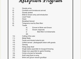 Wedding Reception Program Templates Modern Wedding Reception Program 007 Template Idea Beach