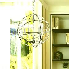 vineyard orb 4 light chandelier wrought iron orb chandelier wrought iron orb chandelier black