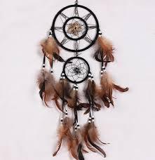 Beautiful Dream Catcher Images Beautiful Dream Catcher hand woven Dreamcatcher with brown 46
