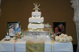 50th Anniversary Cupcake Decorations 50 Wedding Anniversary Decorations Romantic Decoration