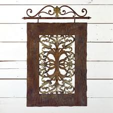 iron french country wall decor