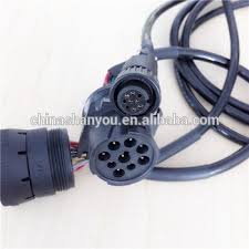 twisted j pin deutsch to obd cable wire harness twisted j1939 9 pin deutsch to obd2 cable wire harness manufacturer