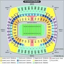 New Arrowhead Stadium Seating Chart Packer Stadium Seating Estrategicoscta Co