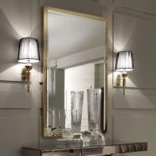 large gold italian wall mirror