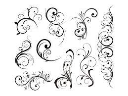Decorative Design Gorgeous Floral Decorative Design Elements Graphic Hive