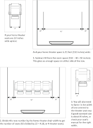 Standard Seating Chart Size Theatre Style Seating