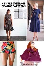 50s Style Dress Patterns