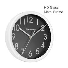 full image for modern 8 inch wall clock 8 8 inch dial fusee wall clock size