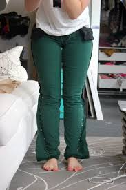 Make Pants Make Skinny Jeans From Regular Jeans Niftythriftygoodwill